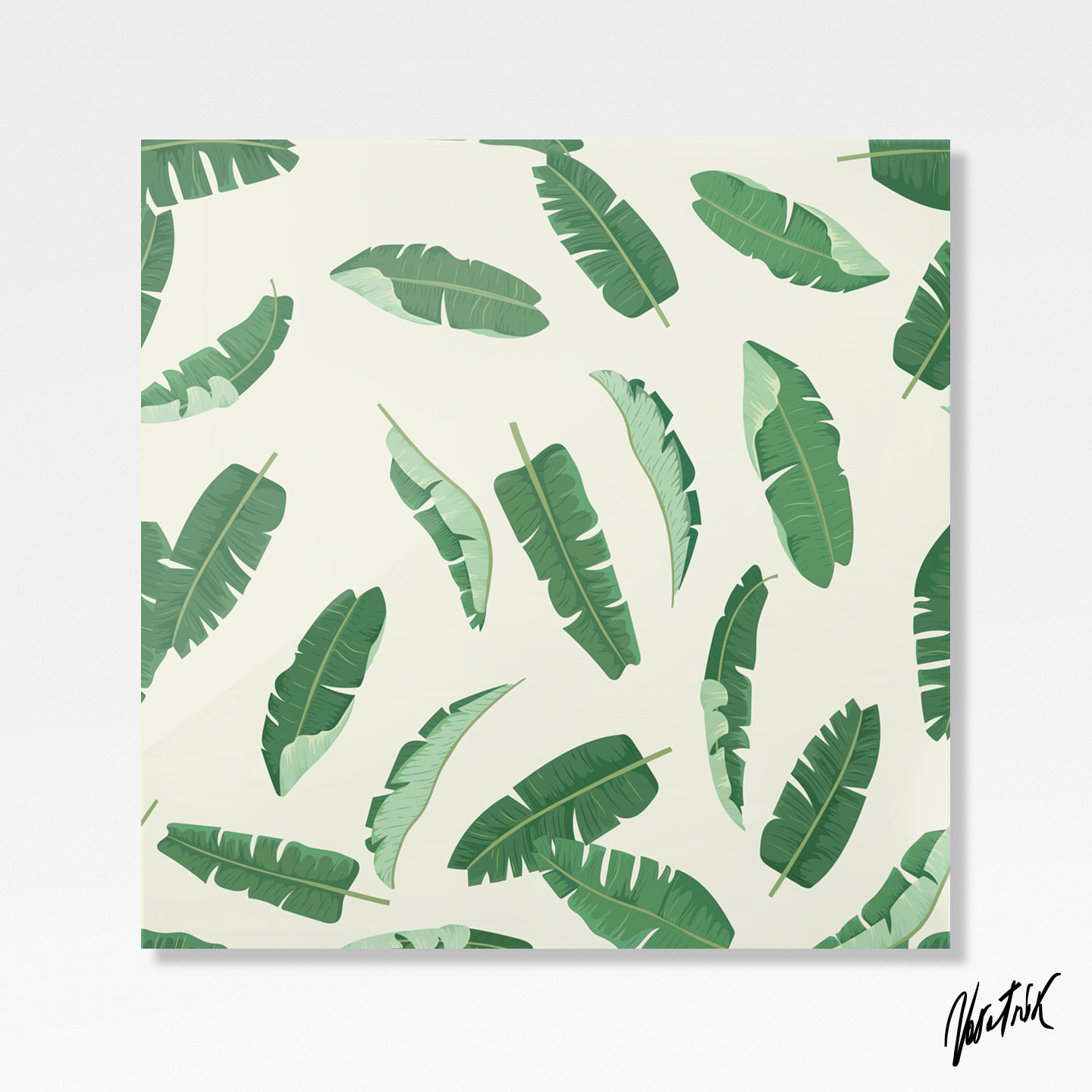 Banana Leaves Pattern 1
